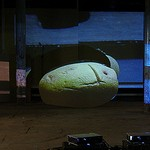 A Hot Potato Against a Dark Background